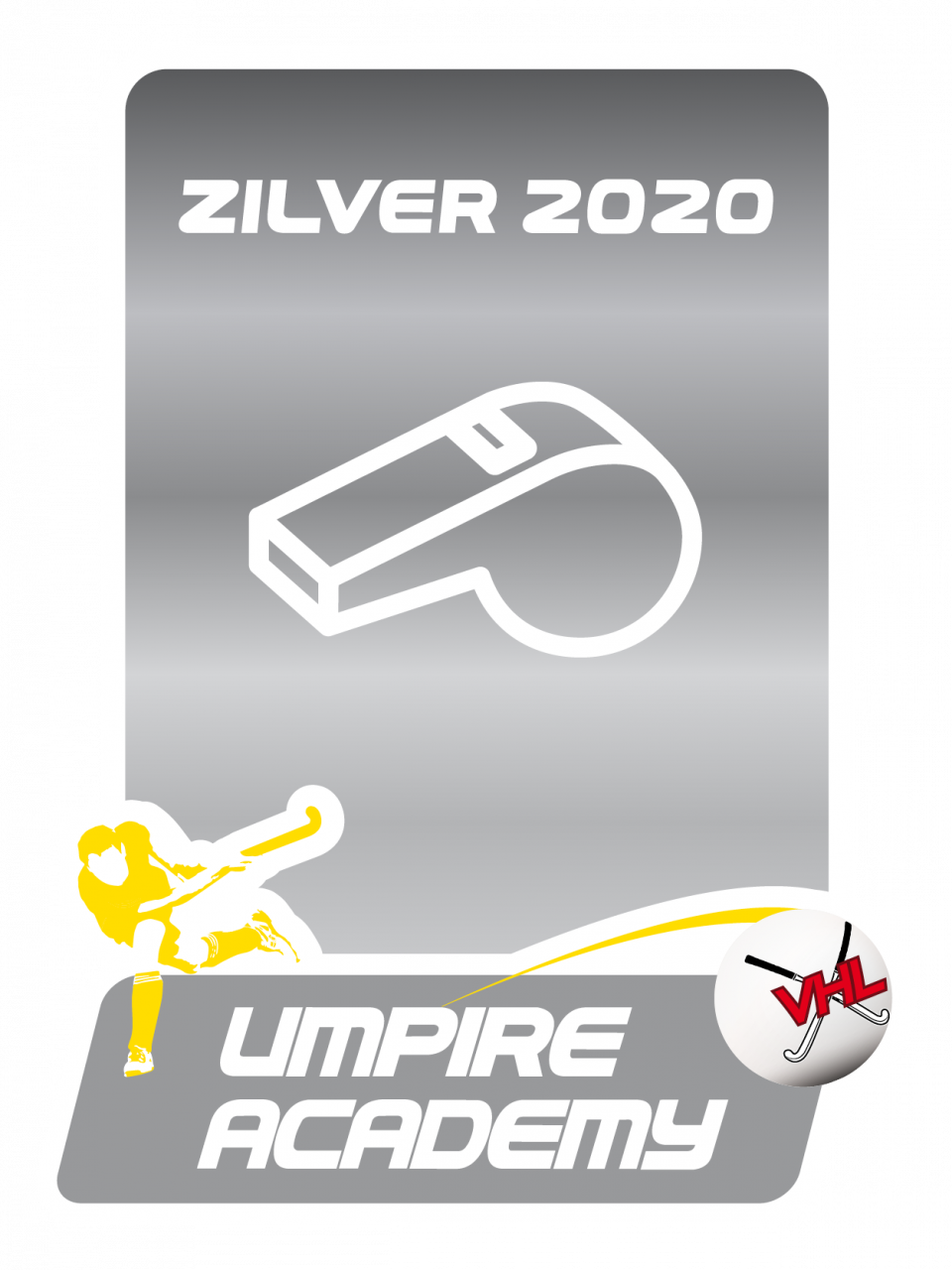 Zilveren Umpire Label