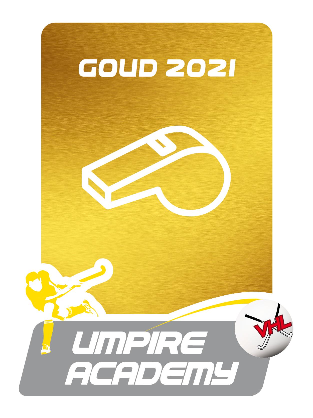 Gouden Umpire Label